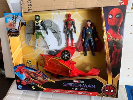 SPIDERMAN 3 MOVIE JET FIGHTER