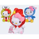 Peluch Hello Kitty Mascherato cm.30