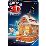 Gingerbread House Puzzle 3D