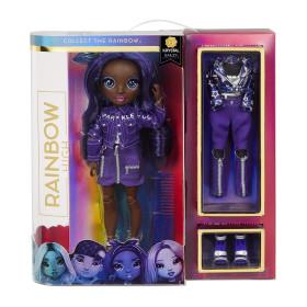 Rainbow High Fashion Doll- Jett Dawson (Indigo)