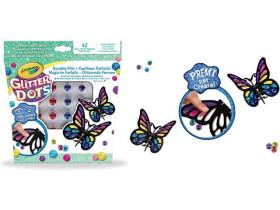 Crayola Glitter Dots Magiche farfalle
