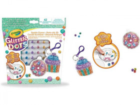 Crayola Glitter Dots-Portachiavi Dolcetti