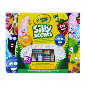 Crayola Silly scents 50 pezzi Kit Artistico