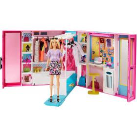 MATTEL Barbie Armadio Dei Sogni Con Bambola - GBK10