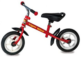Tiger Bike Red Senza Pedali