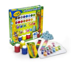 Kit di pittura per coperchi lavabili Crayola