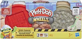 Play-Doh Wheels - Vasetti di Pasta Modellabile da Costruzione, Modelli Assortiti