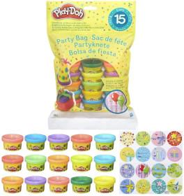 Play-Doh 15 Vasetti Multicolore