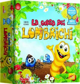 Simba 601132100009 La Corsa dei Lombrichi - Versione Italiana